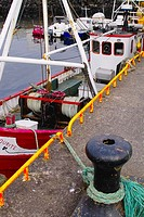 Small fishing boat at Killybegs, Ireland's main fishing port, County Donegal