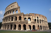 Italy, Rome. The Colosseum