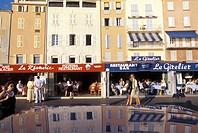 France, Saint Tropez. Quai Jean Jaurés