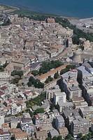 Calabria, Crotone, aerial view