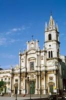 Italy, Sicily, Acireale, Basilica San Pietro e Paolo