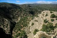Landscape, Sierra de Javalamre, Sarrion, Teruel province, Aragon, Spain