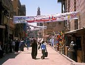 Bazaar, Cairo, Egypt