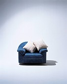 Sofa and two cushions