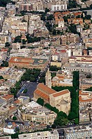 Sicily, Messina, aerial view