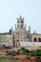 Saifee clock tower Vora No Haziro at Jamnagar Gujarat, India