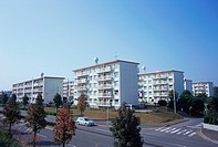 Suburbia in Japan