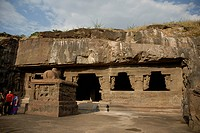 Cave no. 17, Ellora , Aurangabad, Maharashtra , India