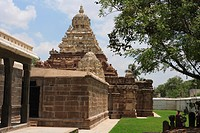 Vaikuntha perumal temple , dedicated to lord vishnu , built in a.d. 674_800 , district Kanchipuram , state Tamilnadu , India