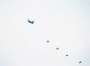 Parachute display, Busan, Korea