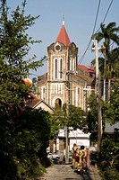 Carribean, Jamaica, Port Antonio, Church