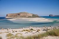 Greece, Crete, Gramvoussa Peninsula, Balos