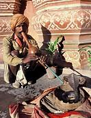 Snake charmer, Jaipur, Rajastan, India
