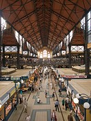 Europe, Hungary, Budapest, Sarnok Market