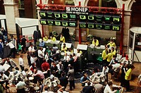 Stock exchange Le Hourse, Paris, France