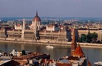 Europe, Hungary, Budapest, Parliament