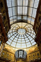 Italy, Lombardy, Milan, the Galleria Vittorio Emanuele