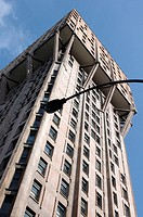 Italy, Lombardy, Milan, Torre Velasca building