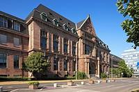 Germany, Leverkusen, Rhine, Lower Rhine, Dhuenn, Wupper, Rhineland, Bergisches Land, North Rhine-Westphalia, D-Leverkusen-Wiesdorf, Bayer works, Bayer...