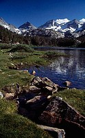 Long Lake John Muir Wilderness California USA