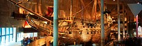 The royal ship Vasa from 1628 at Vasa Museum in Stockholm