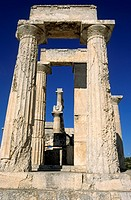 Temple of Aphaia Athena, Aegina island, Greece