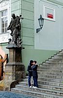 Radnicke schody street  Malá Strana quarter Prague  Czech Republic