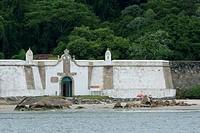Fortaleza Nossa Senhora dos Prazeres, Ilha do Mel, Fortaleza, Paraná, Brazil