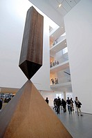 USA, New York, New York City, Manhattan, Museum of modern art,MOMA: main hall