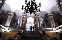 Italy, Liguria, Genoa, Via Garibaldi. Palazzo Rosso intreriors Palazzi dei Rolli, Unesco world heritage