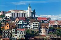 Madagascar, Antananarivo,buildings