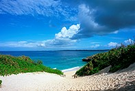 Sunayama Beach in Miyako Island, Okinawa Prefecture, Japan