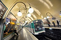 Cité subway station. Paris, France