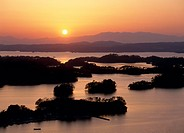 Sunset, Higashimatsushima, Miyagi, Japan
