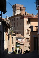 Italy, Piedmont, Langhe, Barolo, Castello Falletti di Barolo