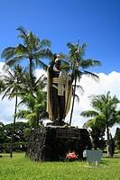 King Kamehameha Statue, Hilo, Hawaii, U.S.A.