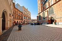 St Mary´s Basillica, Mariacki Square, Krakow, Poland