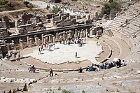 asia, turkey, anatolia, ephesus, great theatre