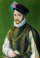 CHARLES IX 1550-1574, king of France from the Valois branch