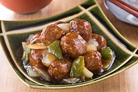 Sweet and Sour Meat Ball