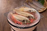 Char grilled flounder