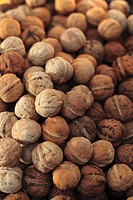 Many Whole Walnuts