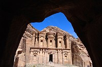Jordan, Petra, Al_Deir, the Monastery
