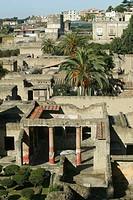 Italy, Campania, Ercolano the roman ruins