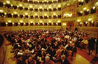Italy, Veneto, Venice, Fenice theatre