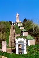 Hungary, Magyarpolany, Ordeal whit Church.
