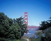 U.S. California, San Fransisco, Golden Gate Bridge