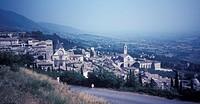 Italy, Assisi, Panorama