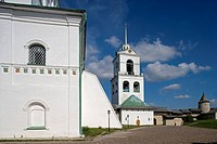 Russia, Pskov, Kreml, Holy Trinity cathedral build 1699