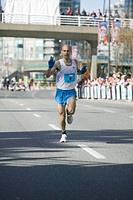 Vancouver Sun Fun Run 10k. 3rd Place Joel Bourgeois 29m46s